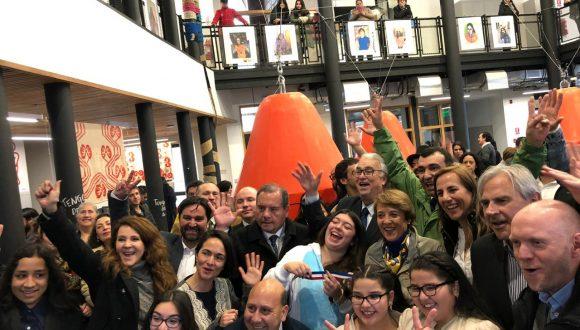 MERI y Caserta colaboran con CeCrea Castro inaugurado hoy