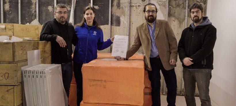 El Zifio deja de viajar para estar en Museo Regional de Aysén
