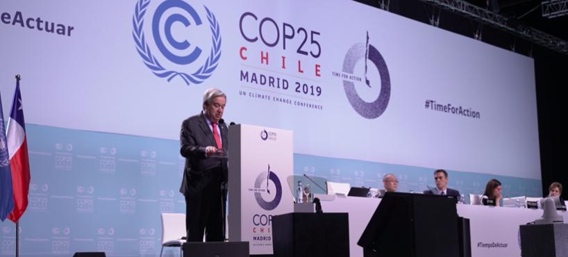 Emergencia climática: la única opción es actuar ya