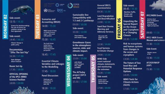 Fundación MERI presenta tres paneles de discusión en la primera jornada de COP25